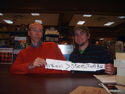 Steve Erikson and I